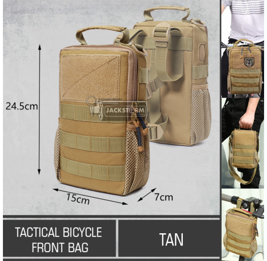 Tactical Bicycle Front Bag