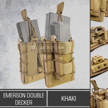 Emerson Double Decker Khaki