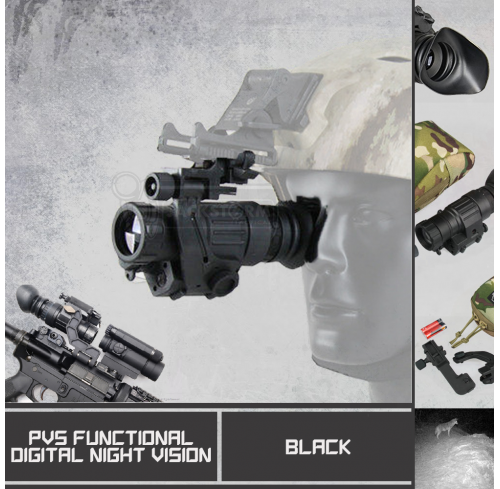 Pvs Functional Digital Night Vision
