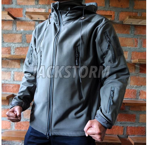 TAD Fleece Jacket Grey