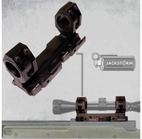 QD Scope Mount Double 25-30mm