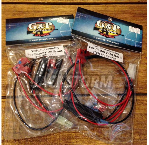 G&P Switch Assy + Wire V2 (Front/Back)