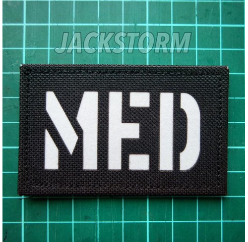 Cutting Patch MED (Black)