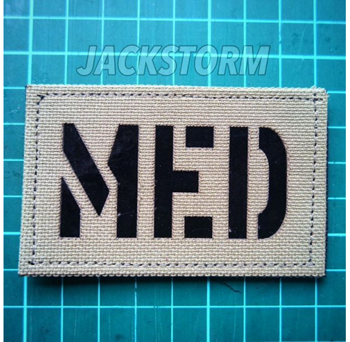 Cutting Patch MED (Tan)