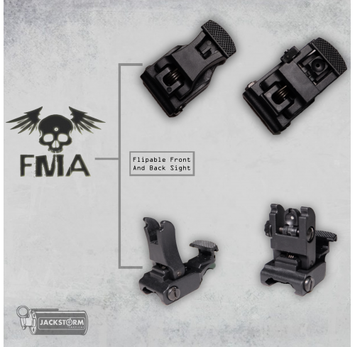 FMA 71L Folding Sight Black
