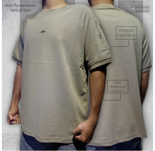 High Performance Tactical Shirt Coyote Brown (CB)