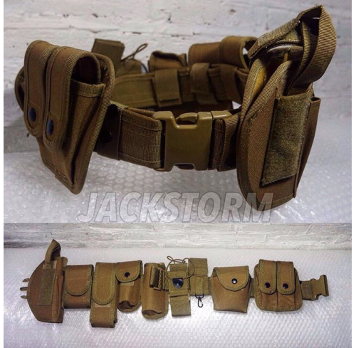 Completed Duty Belt Tan