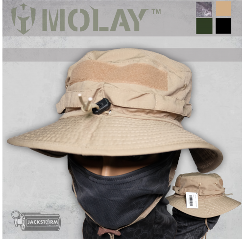 Molay Boonie Hat Coyote Tan