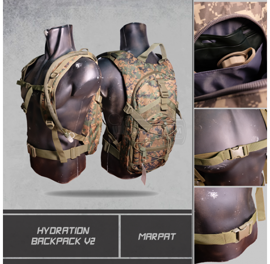 Hydration Backpack V2 Marpat