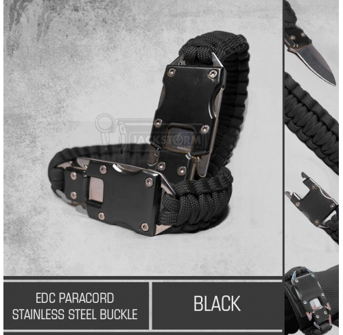 EDC Paracord Stainless Steel Buckle