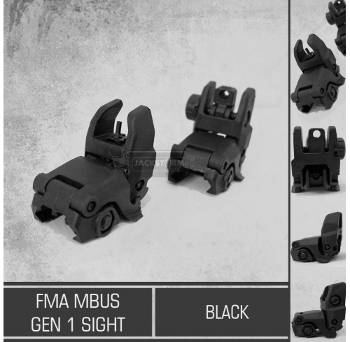 FMA Mbus Gen 1 Sight Black