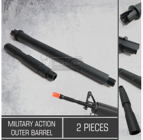"""Military Action Outer Barrel 14"""""""