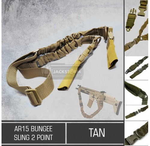 AR-15 Bungee Sling 2 Point
