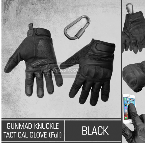 GunMad Knuckle Tactical Glove Full