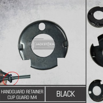 Hand Guard Retainer Cup Guard M4 BK